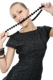 Fashion-conscious woman Stock Image