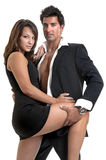 Fashion couple Royalty Free Stock Images