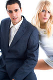Fashion couple Royalty Free Stock Image