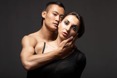 Fashion Couple Stock Photography