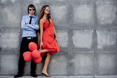 Fashion Couple Royalty Free Stock Photo