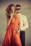 Fashion couple Royalty Free Stock Photos