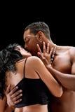 Fashion Couple Dramatic image shot Royalty Free Stock Photography