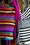 Fashion - Crochet handbags Stock Photo