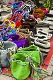 Fashion - Crochet handbags Royalty Free Stock Photos