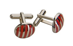 Fashion cufflinks Royalty Free Stock Photo