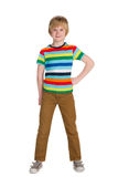 Fashion cute little boy Royalty Free Stock Images