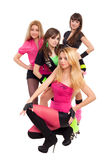 Fashion dancers Stock Images