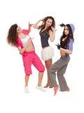 Fashion dancers Royalty Free Stock Image