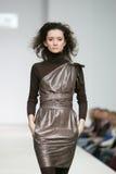 fashion den moscow veckan Arkivfoto