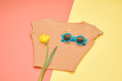 Fashion Design Accessories. Hipster Essentials.. Royalty Free Stock Photography