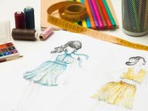 Fashion design Stock Image