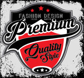 Fashion design company typography, t-shirt graphics, vectors Royalty Free Stock Images