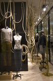 Fashion design. Nice fashion and decoration on store window Stock Images