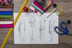 Fashion Design Stock Photography