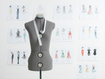 Fashion design studio Stock Images