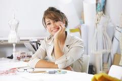 Fashion designer stock image