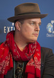 Fashion Designer J. Ralph Strikes a Pose Stock Images