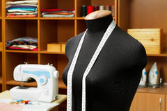 Fashion designer studio Royalty Free Stock Images