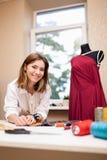 Fashion designer studio Royalty Free Stock Photos