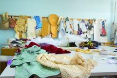 Fashion designer studio Stock Photos