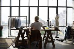 Fashion Designer Stylish Showroom Concept royalty free stock image