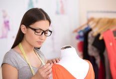 Fashion designer at work. Royalty Free Stock Photos