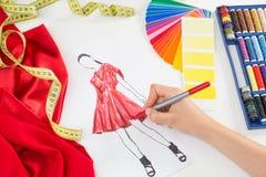 Fashion designer royalty free stock photography