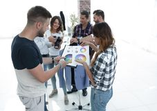 Fashion designers discussing color palette in the Studio. Photo with copy space stock images