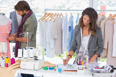 Fashion designers working Stock Images