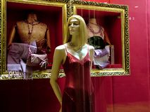 Fashion display. Sale royalty free stock photo