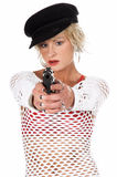 Fashion Diva Gangster Stock Image