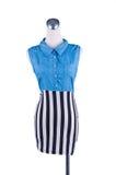 Fashion dress on mannequin Stock Photos