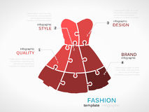 Fashion dress Stock Photos