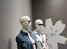 Fashion dummies stock images