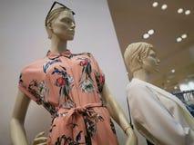 Fashion dummy - seasonal clothing for women royalty free stock image