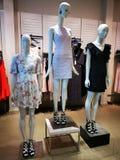 Fashion dummy - summer dresses royalty free stock photos