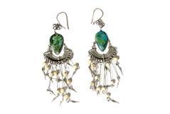 Fashion earrings Stock Image