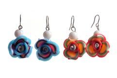 Fashion earrings Royalty Free Stock Photos