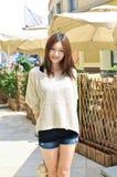 Fashion east asian girl Stock Photo