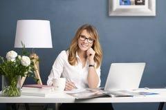 Fashion editor businesswoman Stock Photos