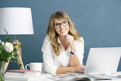 Fashion editor businesswoman royalty free stock photography