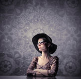 Fashion and elegance Royalty Free Stock Photography