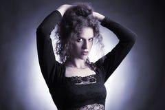 Fashion elegant woman Royalty Free Stock Photography