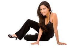 Fashion elegant woman Stock Photography