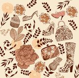 Fashion elements Stock Images