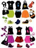 Fashion elements Stock Photos