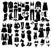 Fashion elements Stock Image
