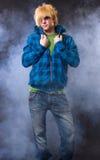 Fashion Emo Boy Royalty Free Stock Image