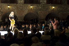 Fashion event in Graz Stock Photography